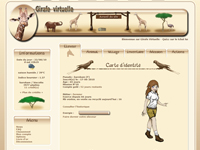 image du jeu Girafe virtuelle