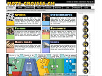 image du jeu Mots croisés - Jeux de lettres