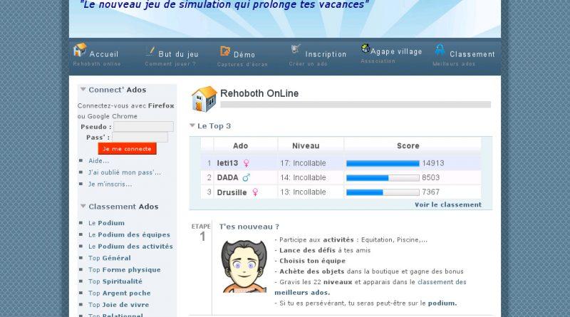 image du jeu Rehoboth OnLine, le jeu qui prolonge tes vacances
